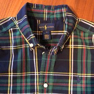 Ralph Lauren plaid shirt size 6